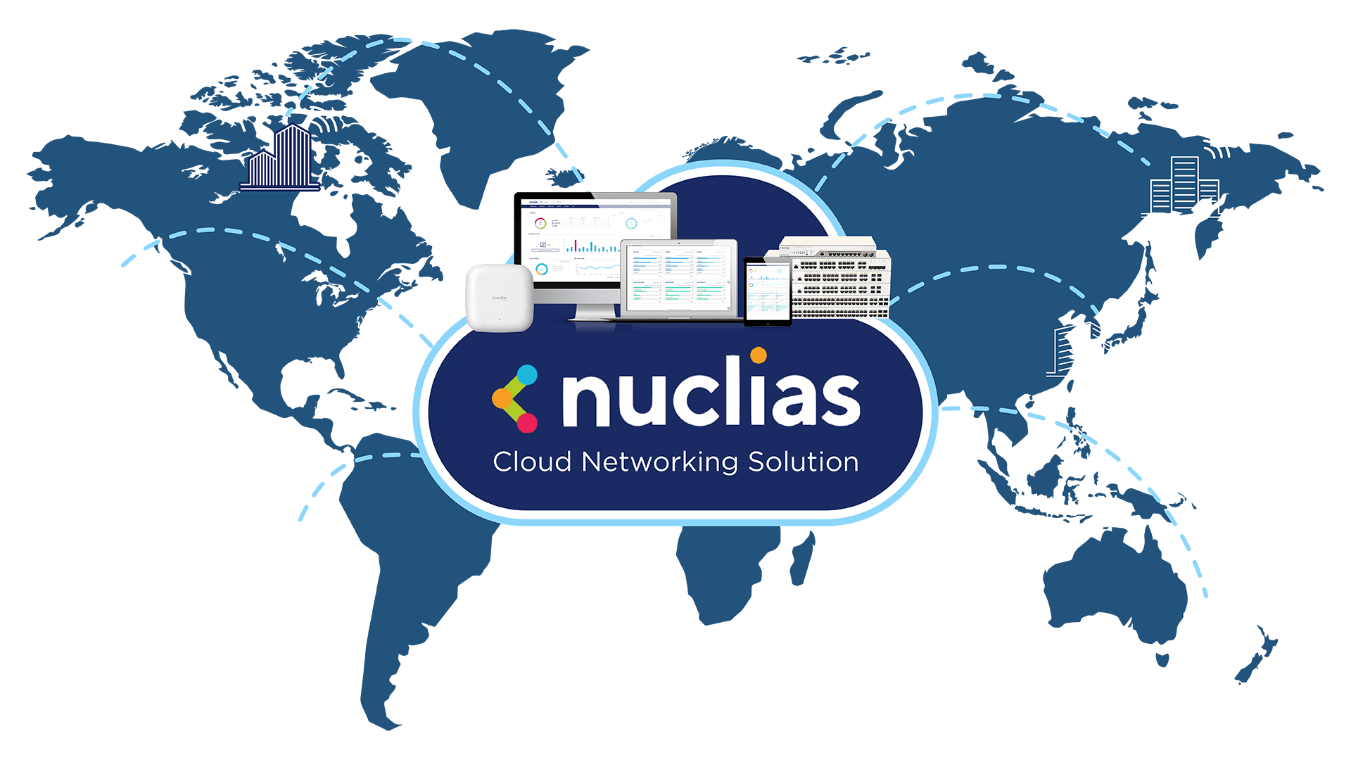 Nuclias Cloud Networking Solution